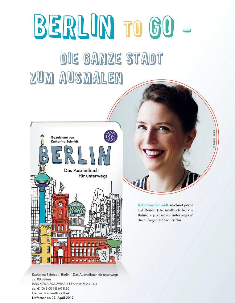 Berlin - das Ausmalbuch